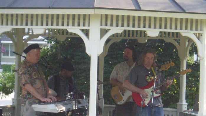 Cavendish concerts continue with Voodoo Alien Blues Band