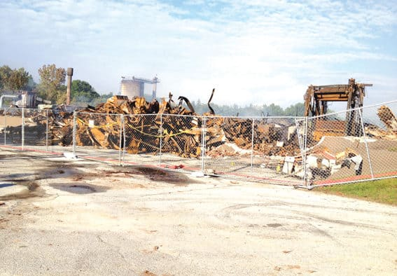 Fire at Rutland Plywood Corporation affects hundreds