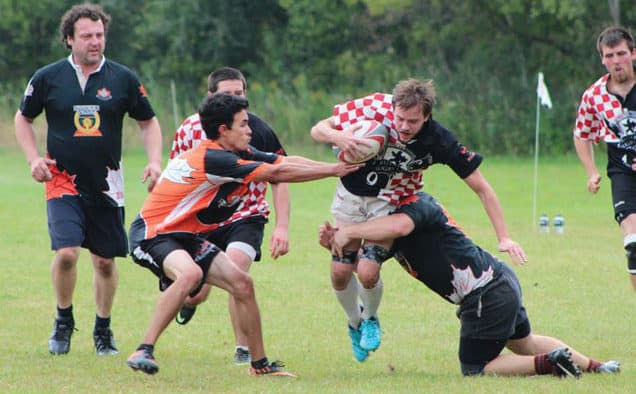 Rutland rugby team wins at home