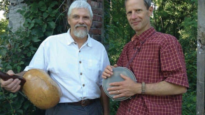 Rick Ceballos and Matt Witten present an evening of folk music in Brandon