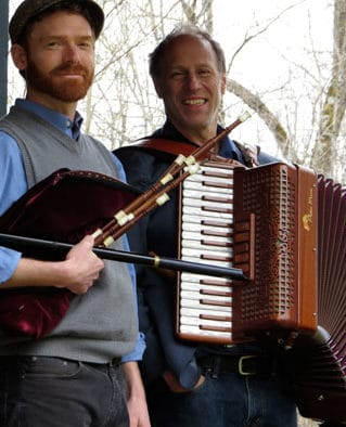 Brandon performance delivers a duo with a blend of New England and Transatlantic dance tunes
