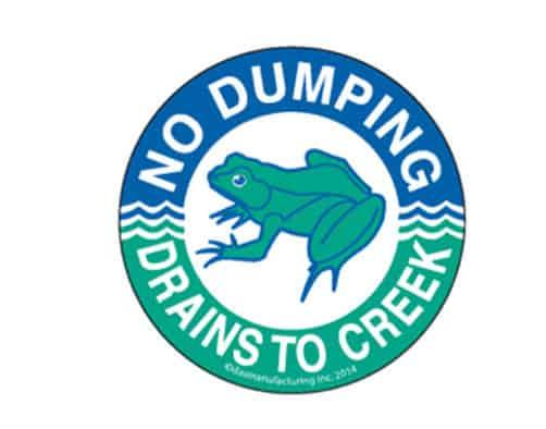 Town of Rutland sponsors Moon Brook storm drain-marking campaign