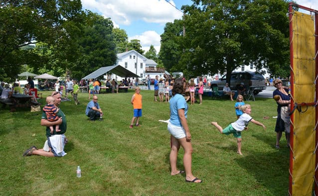 The annual Pittsfield's Picnic end of summer potluck was a community success; over $2,000 raised
