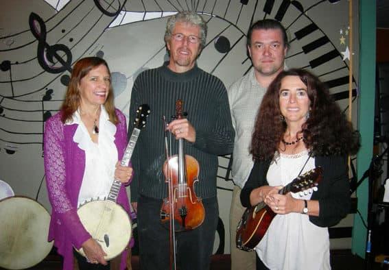 Rockin' the Region with Irish Band Aid featuring Extra Stout and Gypsy Reel Sunday at McGrath's Irish Pub