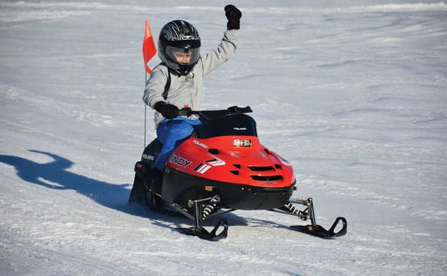 Okemo introduces kids' snowmobiling