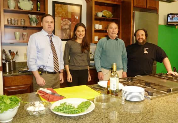PEGTV's Insight crew cooks up a holiday feast with Peppino's chef Louie Illiano