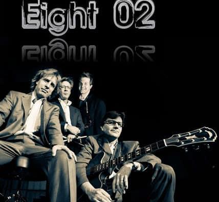 Contemporary jazz fusion band Eight 02 returns to Brandon Music