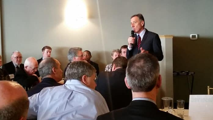 Shumlin has tough words for schools, public safety leaders