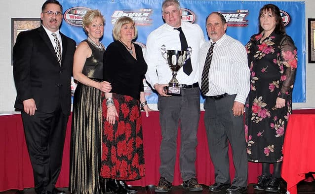 Champions honored at Devil's Bowl Speedway banquet
