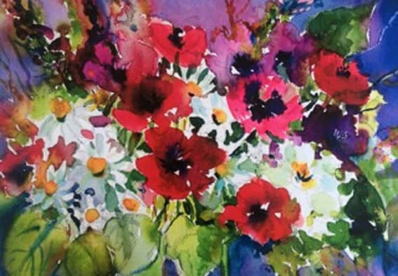 Celebrate spring early with watercolor workshop