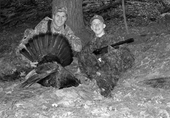 Governor Shumlin invites Youth Turkey Hunt participants to lunch
