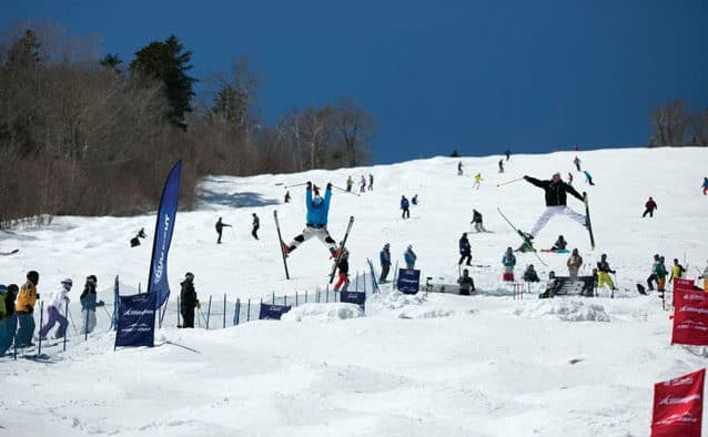 Get ready to party on the snow; Bear Mountain Mogul Challenge returns