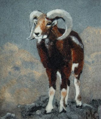 """Explore """"Flora, Fauna and Fantasy"""" works of felted art by Muffy Kashkin Grollier"""