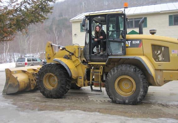 Emily the excavator operator