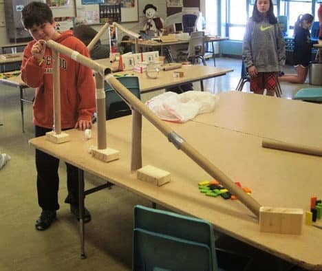 Marionettes and Rube Goldberg at KES