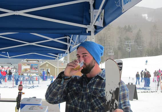 Hops in the Snow draws hundreds despite cold