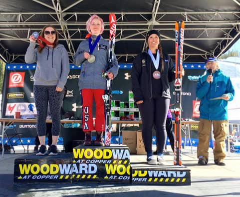 Pittsfield's Mazie Hayden takes gold in Women's Open Class SkierCross at USASA Nationals