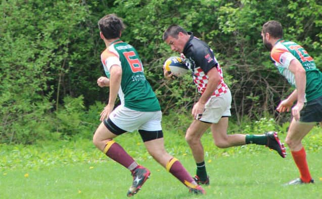 On the rugby pitch: Rutland edges out Bennington