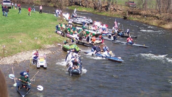 Video: 41st Annual Bridgewater Raft Race