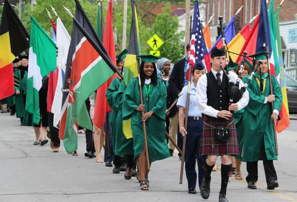 Green Mountain College Holds 178th Commencement
