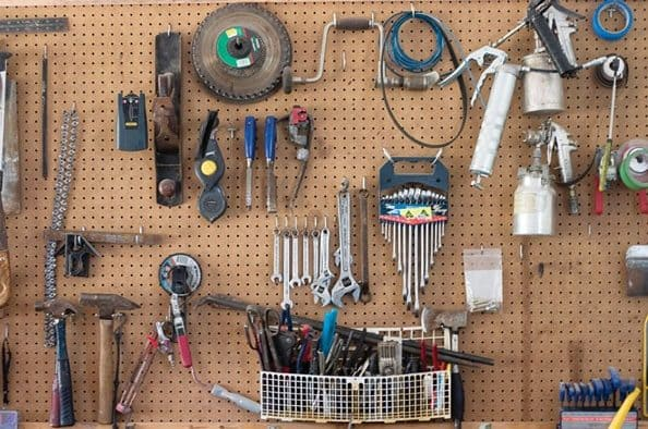 Secrets to keeping an organized shed