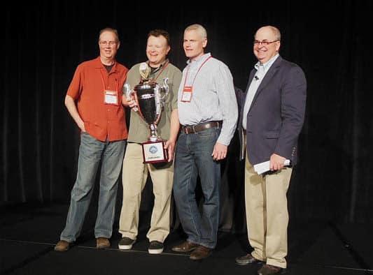 Killington wins NSAA Conversion Cup award