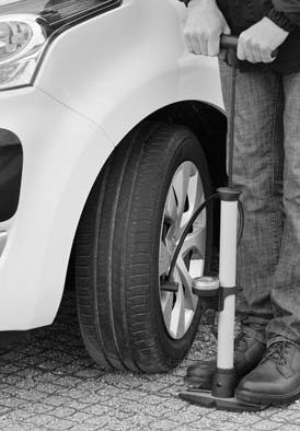 Know the signs of flat tire