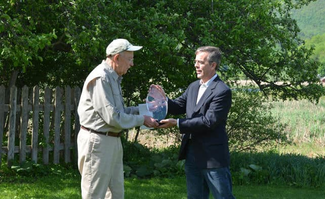 Rutland's Roy Pilcher wins GMP-Zetterstrom Environmental Award