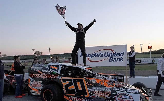 Polewarczyk wins People's United Bank 100 for first Devil's Bowl ACT victory