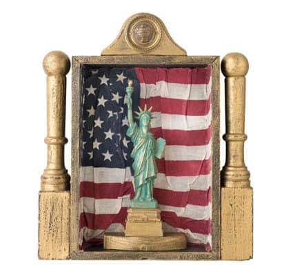 Brandon Artists exhibit American flag-themed works