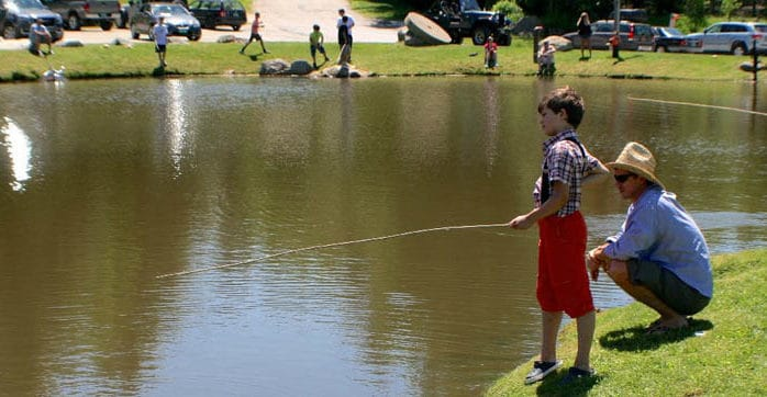 Gather 'round Summit Pond for the return of the annual Huck Finn Catfish Derby
