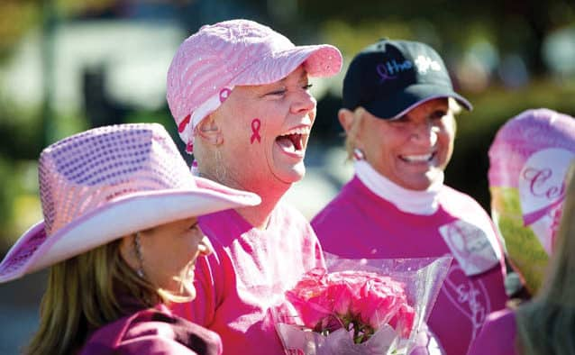 Help finish the fight against breast cancer
