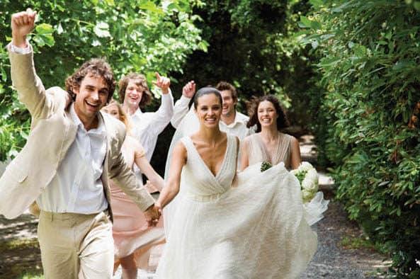 Beat the heat during a summer wedding