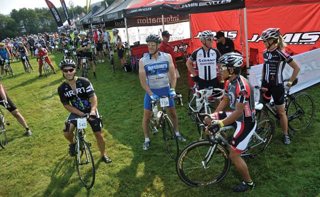Hot temperatures greet Farm to Fork Fondo riders