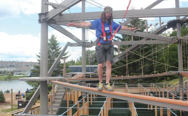 Exploring the Snowshed Adventure Center