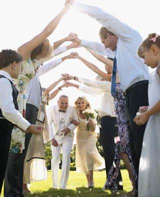Bridal party responsibilities