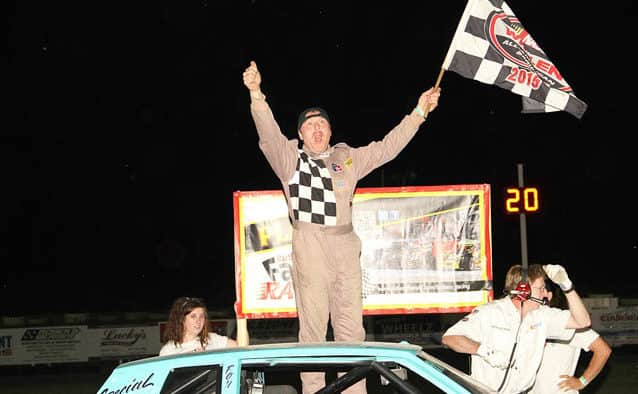 Quenneville doubles up in Devil's Bowl Speedway mid-season championships