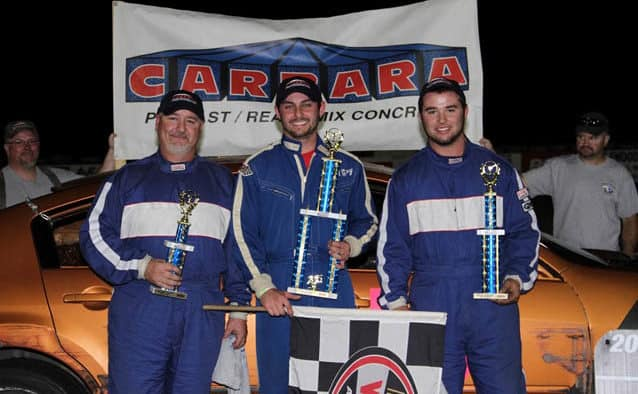 Gonyo scores C.J. Richards Memorial Modified victory at Devil's Bowl Speedway