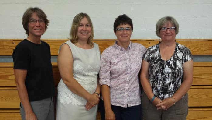 Three Mettawee teachers receive awards at B-RSU welcome back event held Aug. 24