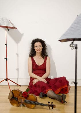 Compass Music welcomes honored guest violinist Madeleine Mitchell from UK