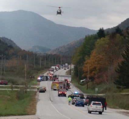 Texas biker dead after crash on Route 4
