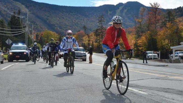 Rolling up and down Killington, a cross-discipline bike event