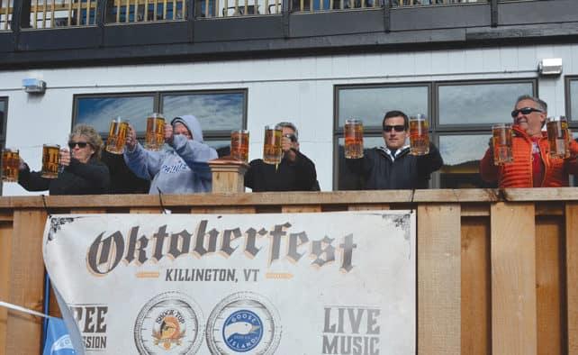 "Killington's inaugural Oktoberfest event deemed a ""smashing success"" by resort officials"