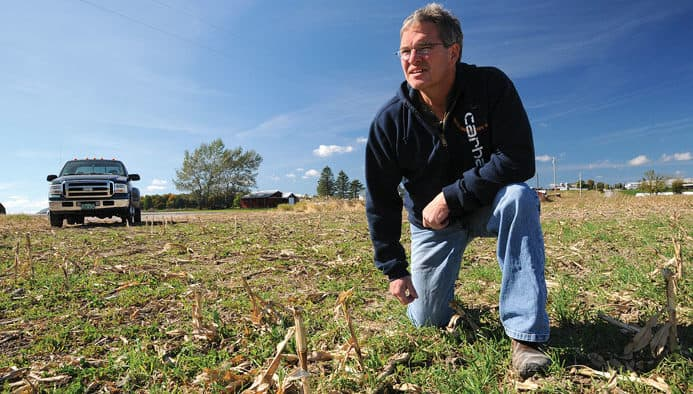 Orwell farmer tries no-till corn, increases profitability and reduces phosphorus runoff