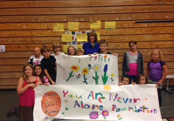 Mettawee Community School offers caring blankets and caring words