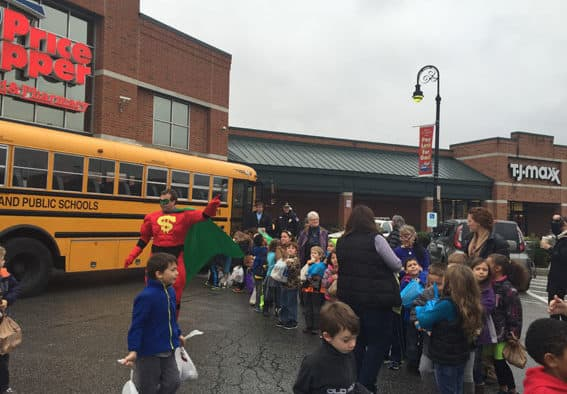 6,500 items delivered to the Salvation Army with Stuff-A-Bus campaign
