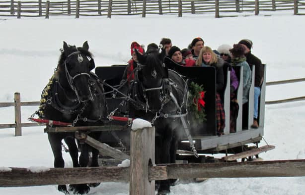 Christmas at the Farm featured throughout December at Billings Farm