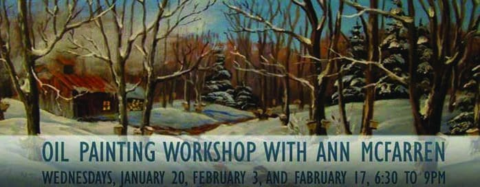 Learn the art of oil painting with artist Ann McFarren