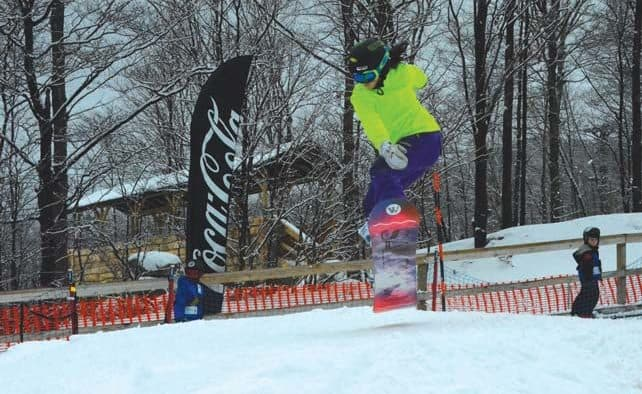 Kids shred the park at Killington
