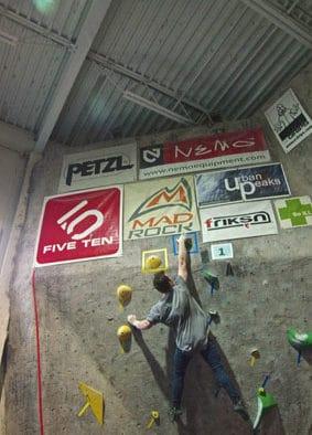 Killington Mountain School's Sam Hayden podiums in USA climbing ABS Regional Championships